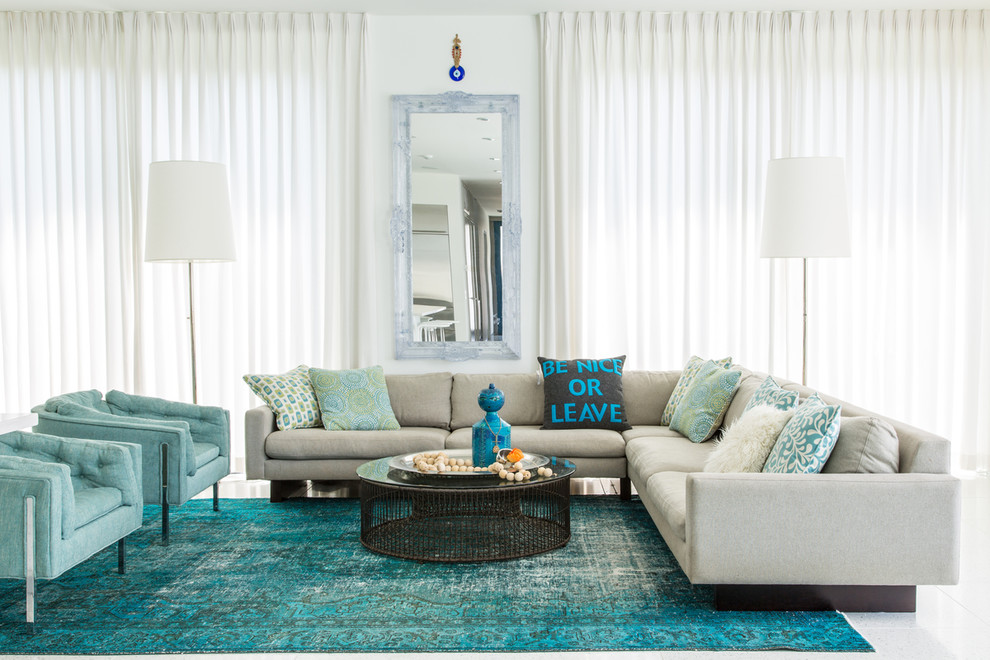Turquoise Rug Decor Ideas - Valley Garages Ideas