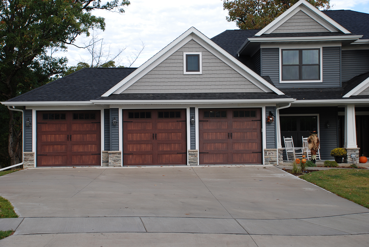 New Garage Doors Valley Garages Ideas From Quot Paint Metal